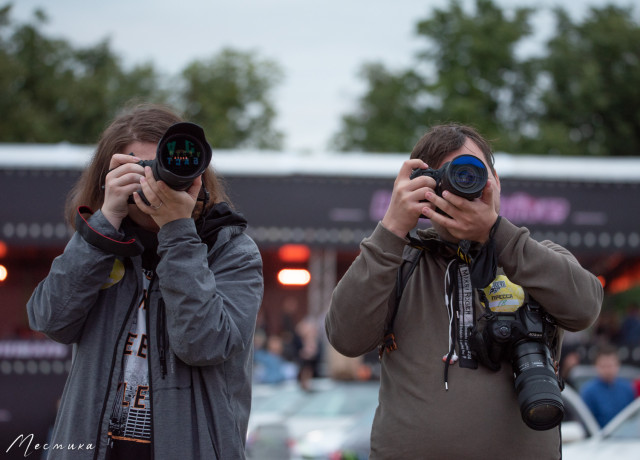 Фотографы на фестивале Live&Drive