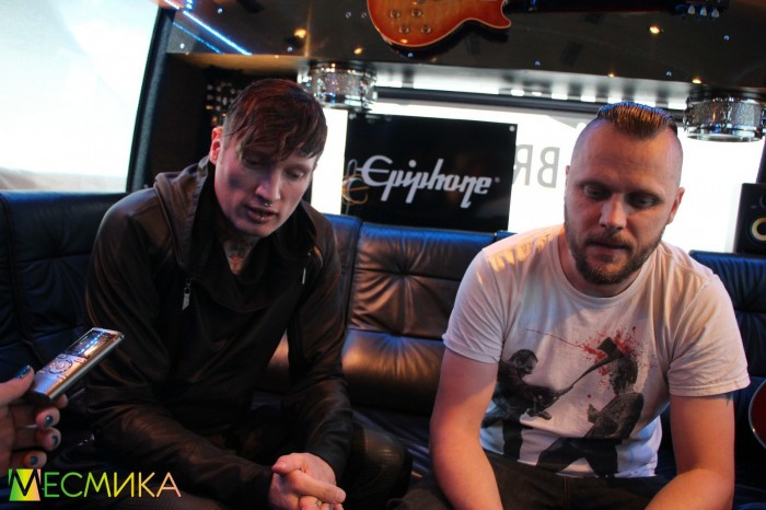 Marc and Denis from Caliban - conversation about a new album Gravity, collaboration and Russian tour