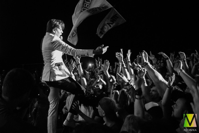 Interview with The Hives at Dobrofest: Russia's been a big white spot on the Hives' map in our Hives map