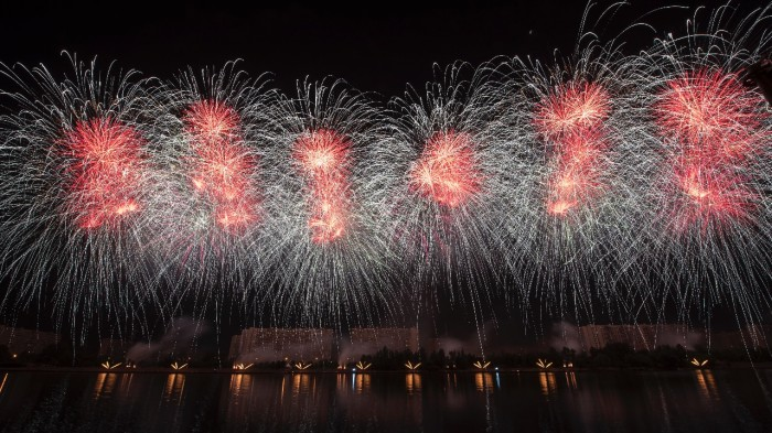 "Kindness and magic in every heart at the international festival of fireworks ""rostec""."