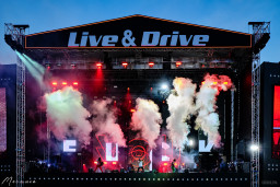 4-5 July on the Parking lot of the Luzhniki stadium triumphant has started a series of drive-in Live concerts & Drive