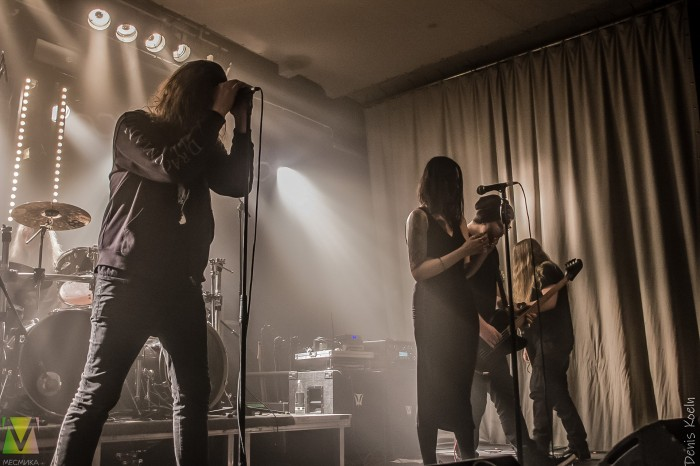 Draconian performed on January 25th in German Mannheim