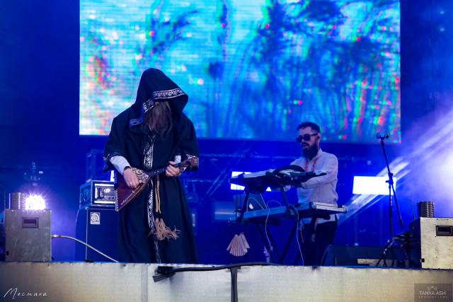 Нейромонах Феофан на фестивале Live&Drive