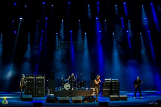 Группа Nazareth в Москве