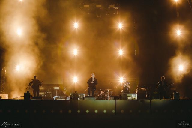 Группа Anacondaz на фестивале на фестивале Live&Drive