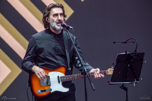 Вячеслав Бутусов в Зеленом театре на ВДНХ