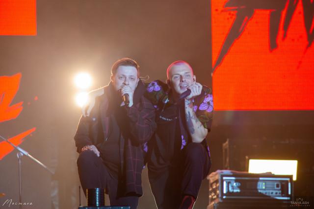 Артем и Сергей. Группа Anacondaz на фестивале на фестивале Live&Drive