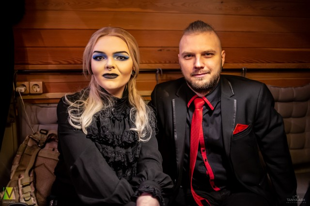 Артем Хвощевский и Александра Жулина. KONFIRMAT
