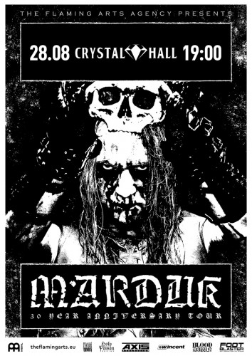 Marduk August 28 in Moscow