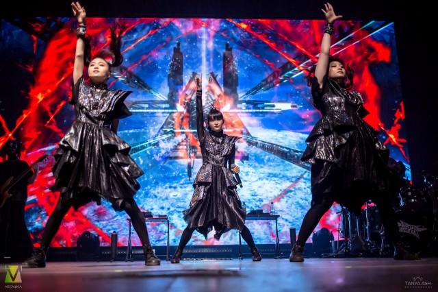 Babymetal в Adrenaline Stadium