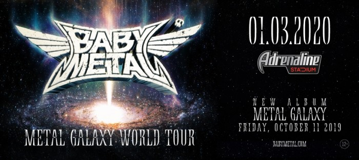 Babymetal Tour 2020.Babymetal March 1 For The First Time In Moscow Mesmika