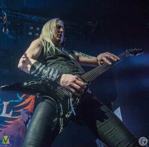 Hammerfall выступили 25 февраля в Петербургском Космонавте