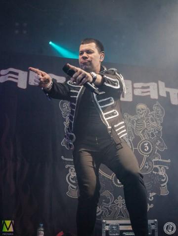 Рок группа Amalgama 25.02 выступила на разогреве у Hammerfall в Петербурге