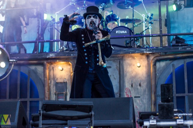 Великий King Diamond выступил на фестивале Summer Breeze Open Air