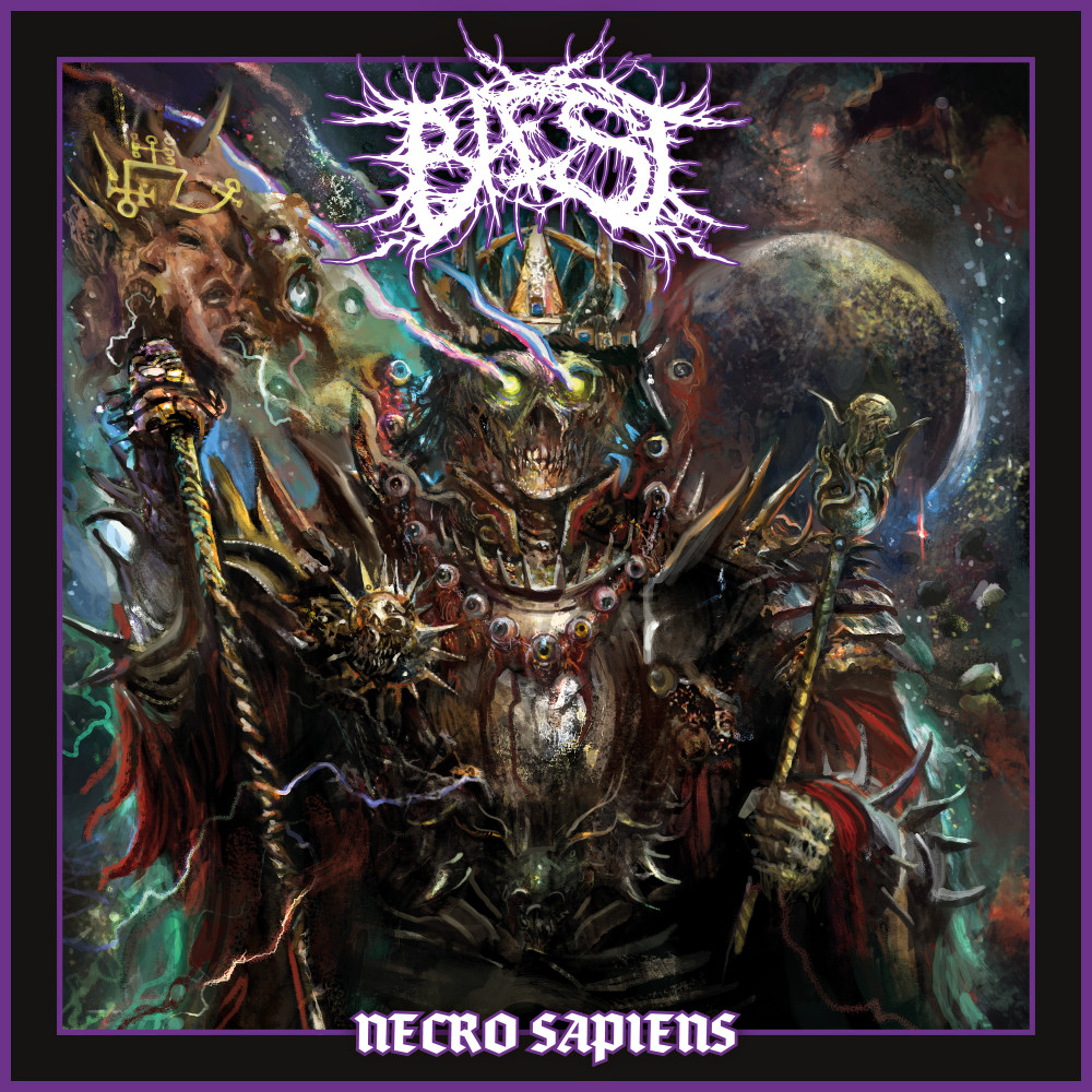 "Baest - ""Necro Sapiens"" (Death Metal, Century Media, 05.03.2021)"