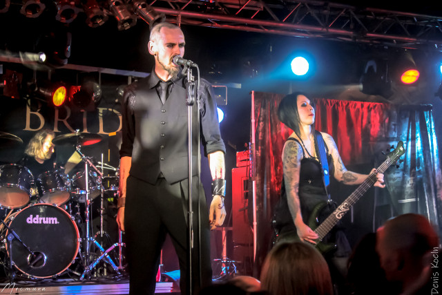 Archived photos: My dying bride in the German city of Ludwigsburg on December 9, 2012