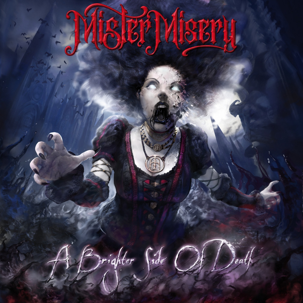 "Mister Misery - ""A Brighter Side Of Death"" (Modern Metal/Hard Rock, Arising Empire 23.04.2021)"