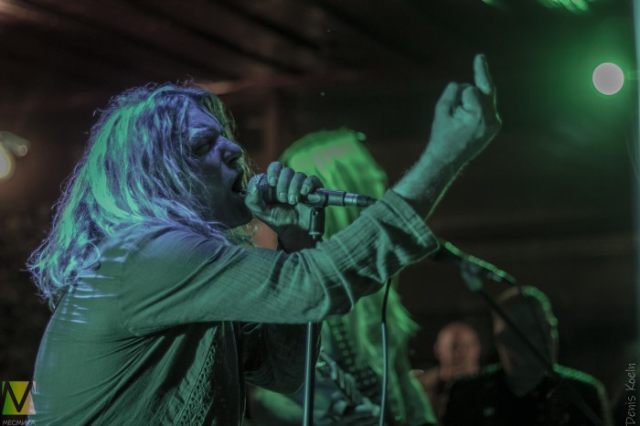 Rock-n-roll fever: Warrior Soul performed on May, 17 in Bad Friedrichshall, German