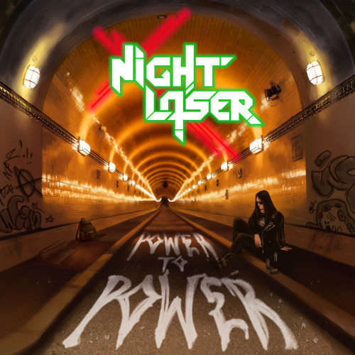 "Night Laser - ""Power To Power"" (Hard Rock/Heavy Metal, Out Of Line Music 28.08.2020)"