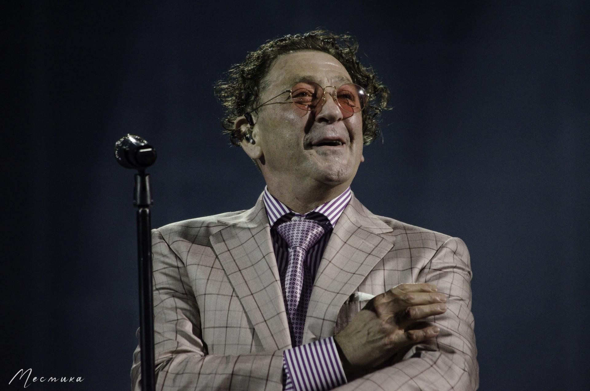 Григорий Лепс на фестивале Белые ночи Санкт-Петербурга 11.07.2021