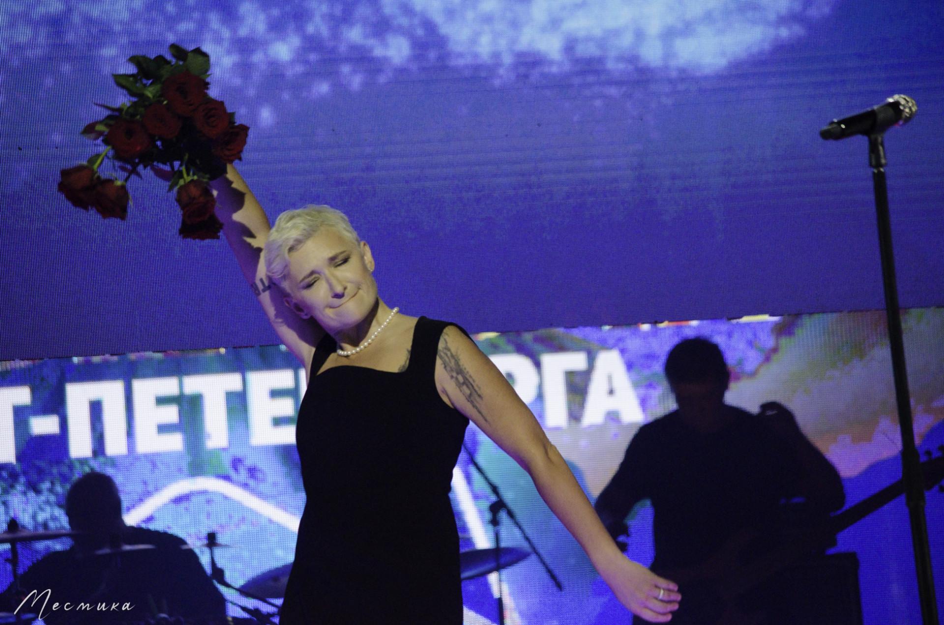 Диана Арбенина на фестивале Белые ночи Санкт-Петербурга 11.07.2021