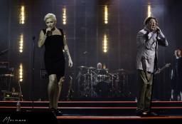 Диана Арбенина и Григорий Лепс на фестивале Белые ночи Санкт-Петербурга 11.07.2021
