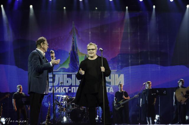 Владимир Пресняков на фестивале Белые ночи Санкт-Петербурга 11.07.2021