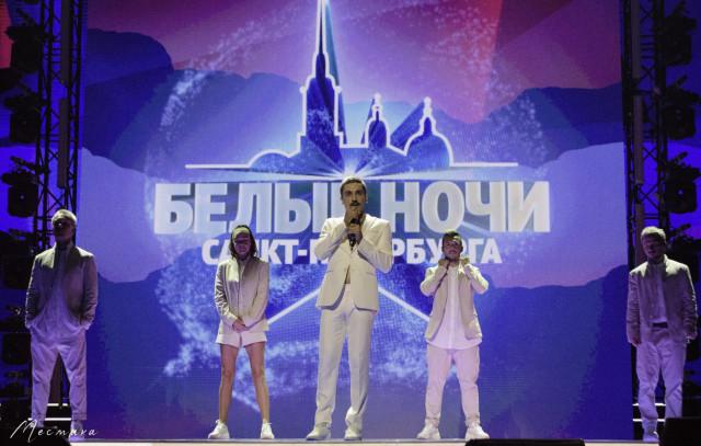 Дима Билан на фестивале Белые ночи Санкт-Петербурга 11.07.2021