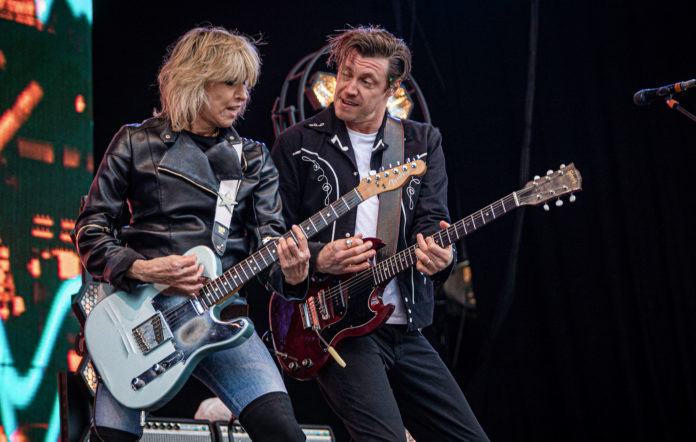 "The Pretenders share new single ""You Can't Hurt A Fool"", the second with their new album"