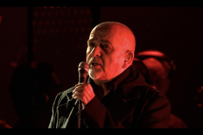 Peter Gabriel has released two rare concert film