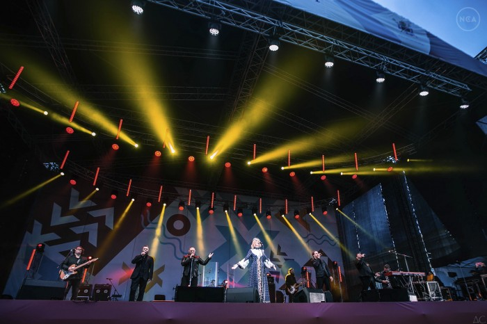 "The annual music festival ""St. Petersburg live"""