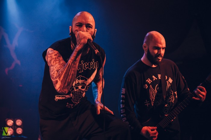 Suffocation, Hate Vltimas and spoke at The Flaming arts Fest in Saint-Petersburg