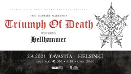Triumph of Death 2 апреля в Хельсинки