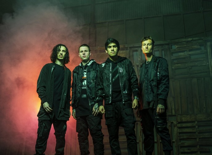 Crown The Empire at club Cosmonaut