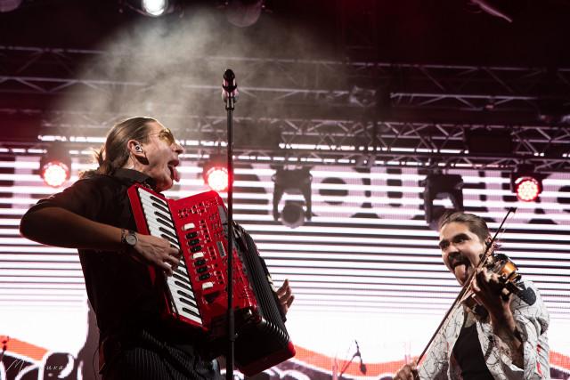 Павел Личадеев и Юрий Музыченко