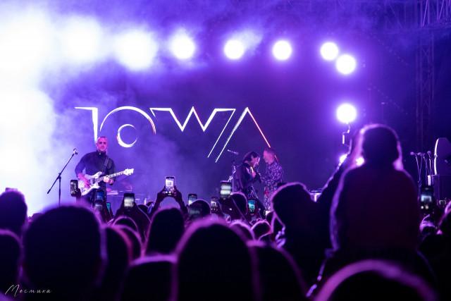 Концерт группы IOWA на крыше ROOF PLACE