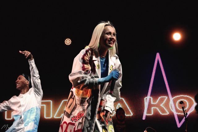 Клава Кока и Niletto выступили в Санкт-Петербурге в Севкабеле 20 сентября